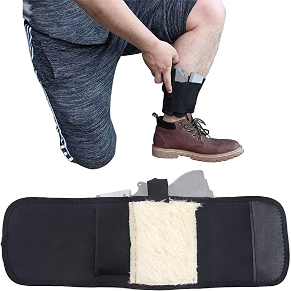 1PC Concealed Carry Non-Slip Strap Universal Leg Carry Holster Ankle Holster