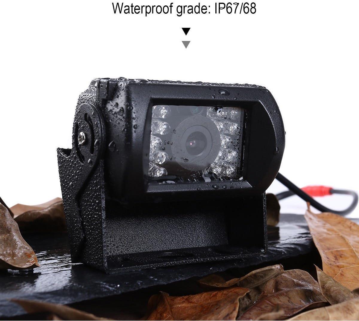 Car Rear View Reverse 18 LED IR REVERSING CAMERA Waterproof Night Vision 9-36V