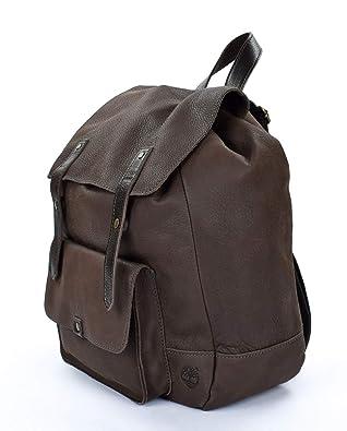 Timberland Mochila en cuero M4462 Brown: Amazon.es: Zapatos y complementos