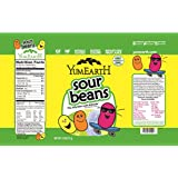 YumEarth Natural Sour Jelly Beans, 2.5 Ounce (Pack of 12)