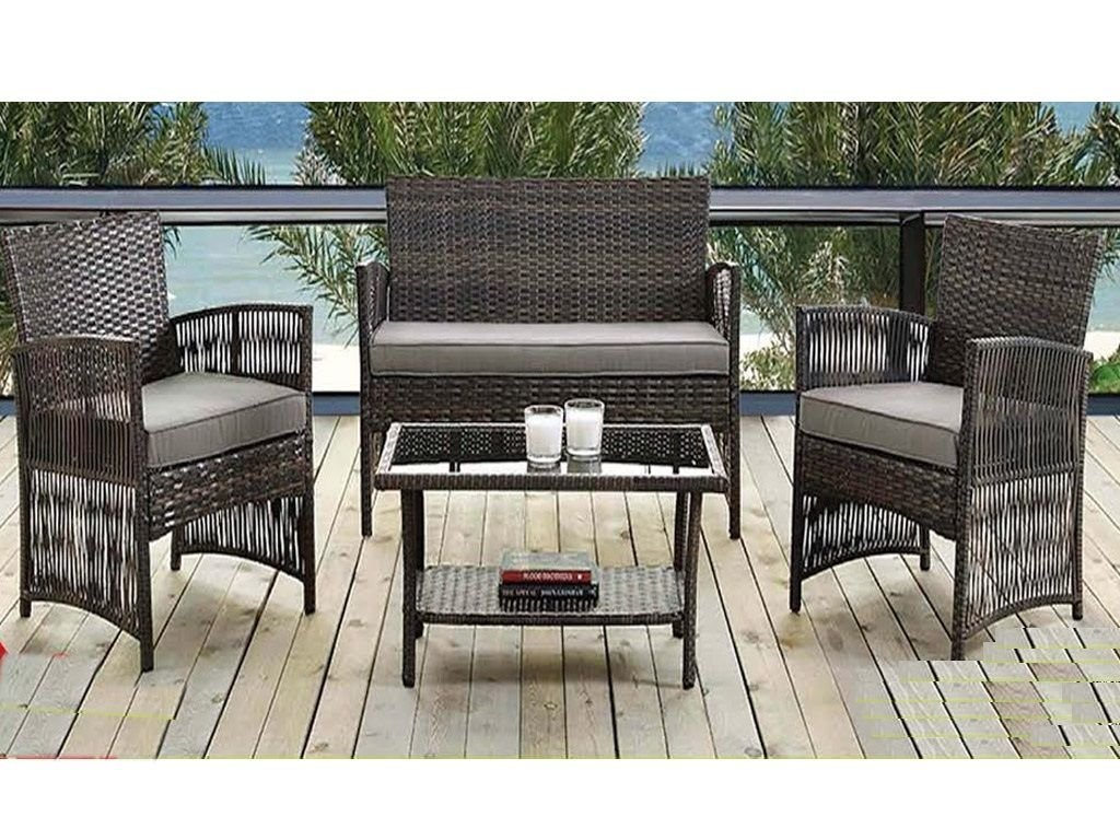madrid garten patio m bel rattan wetterfest set mit sofa st hlen und tisch mit kissen. Black Bedroom Furniture Sets. Home Design Ideas