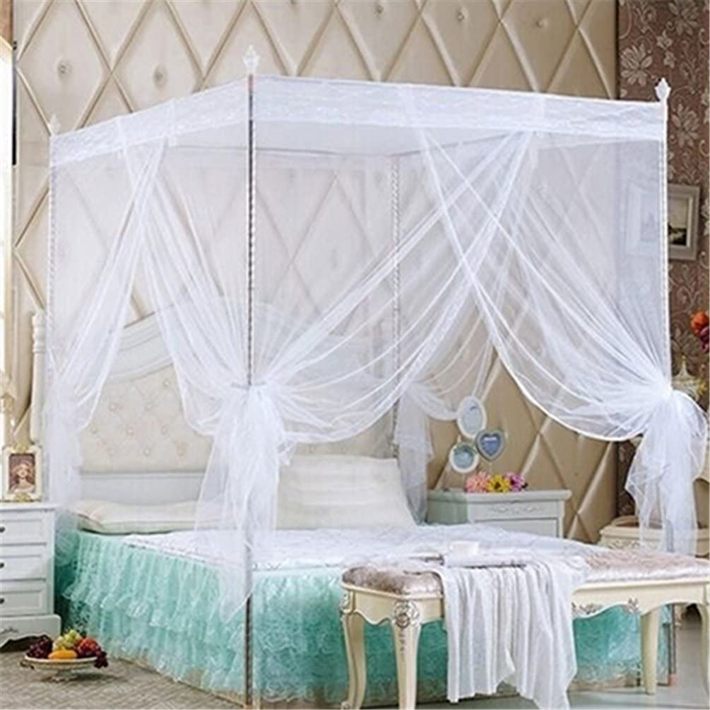- Amazon.com: Floralby Lace Mosquito Net For Double Bed Canopy
