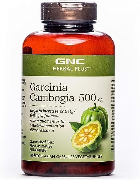 Gnc Herbal Plus Garcinia Cambogia 500mg 180 Capsules Helps