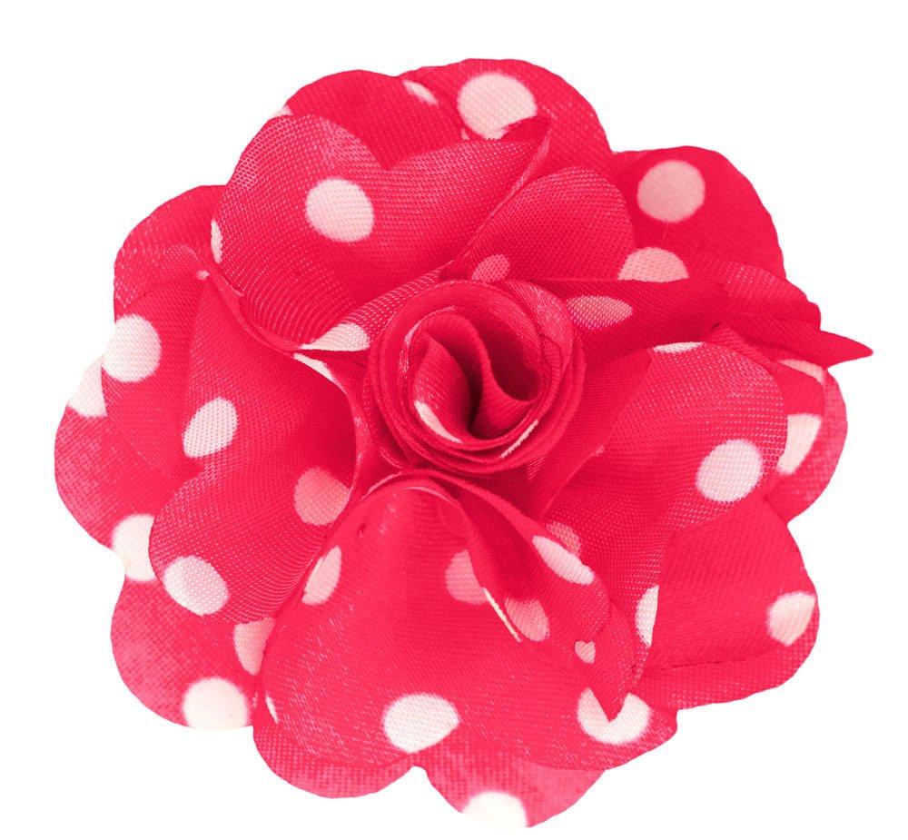 Men's Lapel Flower . Bubblegum Pink