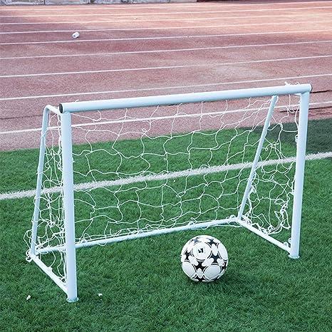 HDJSA 9.8 * 6.5ft Porterías de fútbol, Portería de fútbol portátil ...