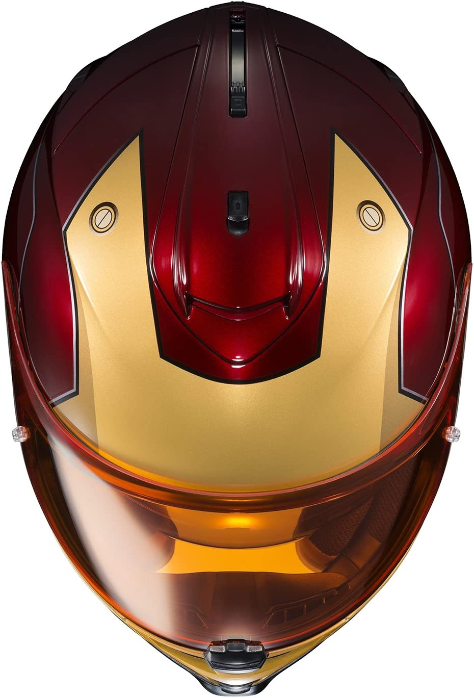 Red//Yellow, X-Large HJC Helmets Marvel IS-17 Unisex-Adult Full Face IRONMAN Street Motorcycle Helmet