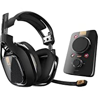 Logitech Astro Gaming A40TR Headset, color Negro (+ MixAmp Pro PlayStation 4) - Platinum Edition