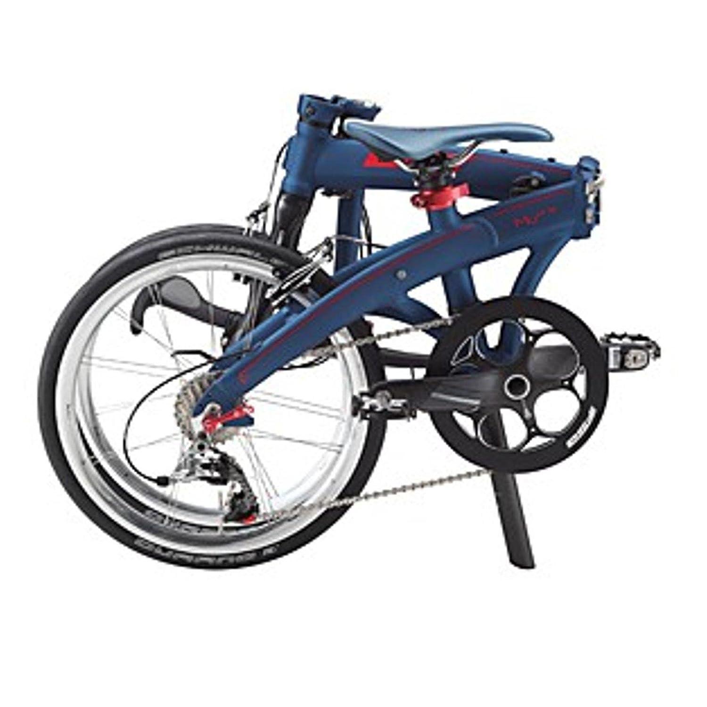 Dahon Faltrad MU LT10 20 Zoll 10 Gang Blau Rot Klapp Fahrrad Herren Damen Faltbar Kettenschaltung, 879354: Amazon.es: Deportes y aire libre
