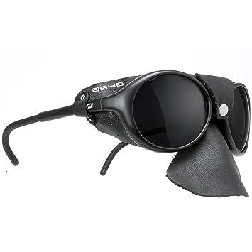 Daisan schwarze Gletscherbrille Bergsteigerbrille mit Kat. 4 Gläser 4nVwYrYT