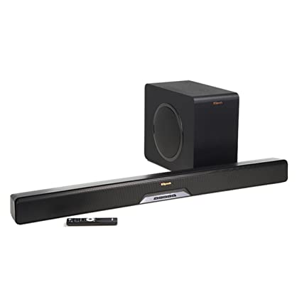 Klipsch RSB 14 Sound Bar With Wireless Subwoofer Play Fi