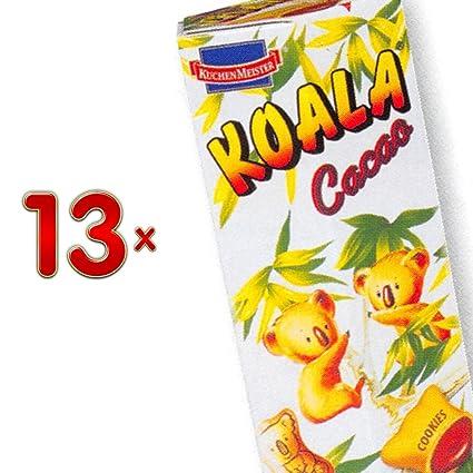 Kuchenmeister Koala Cacao 13 X 75g Packung Koala Kekse Mit