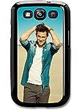 Channing Tatum Beach Posing Actor Portrait hülle für Samsung Galaxy S3