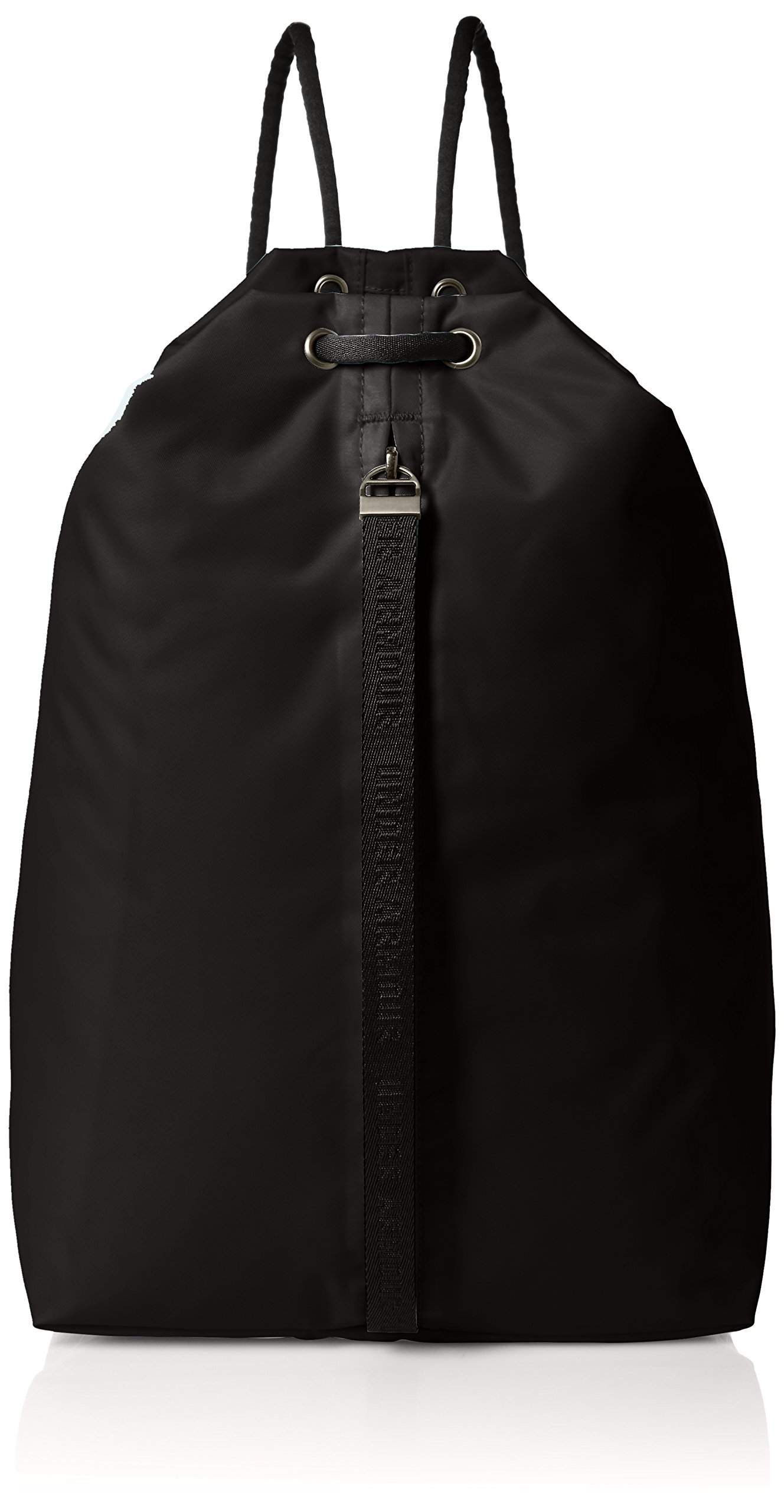 Under Armour Women's Essentials Sackpack, Black (001)/White, One Size