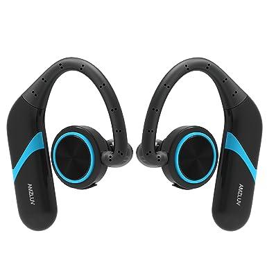 amzluv True Auriculares inalámbricos estéreo, auriculares de Bluetooth, cancelación de ruido auriculares Bluetooth auricular