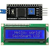 SainSmart IIC/I2C/TWI 1602 Serial LCD Module Display for Arduino UNO MEGA R3Blue on White