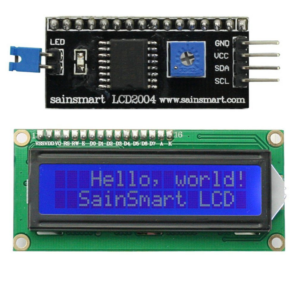 SainSmart IIC/I2C/TWI 1602 Serial LCD Module Display For Arduino UNO MEGA R3 *New * Sain Store Inc