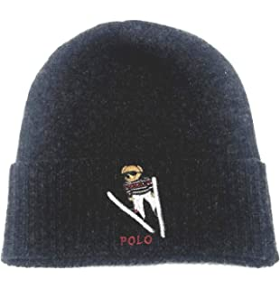 6b669cc6e0e Polo Ralph Lauren Mens Wool Fair Isle Winter Hat Black O S at Amazon ...