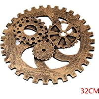 Gankmachine Engranaje de Madera Craft Colgando Cog Oficina