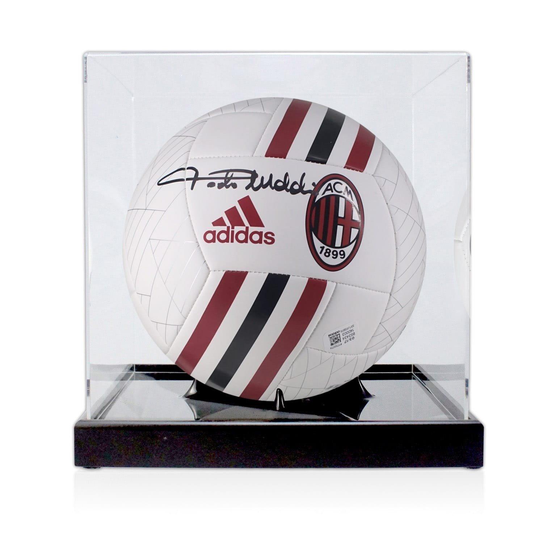 exclusivememorabilia.com Memorabilia Paolo Maldini - Balón de ...