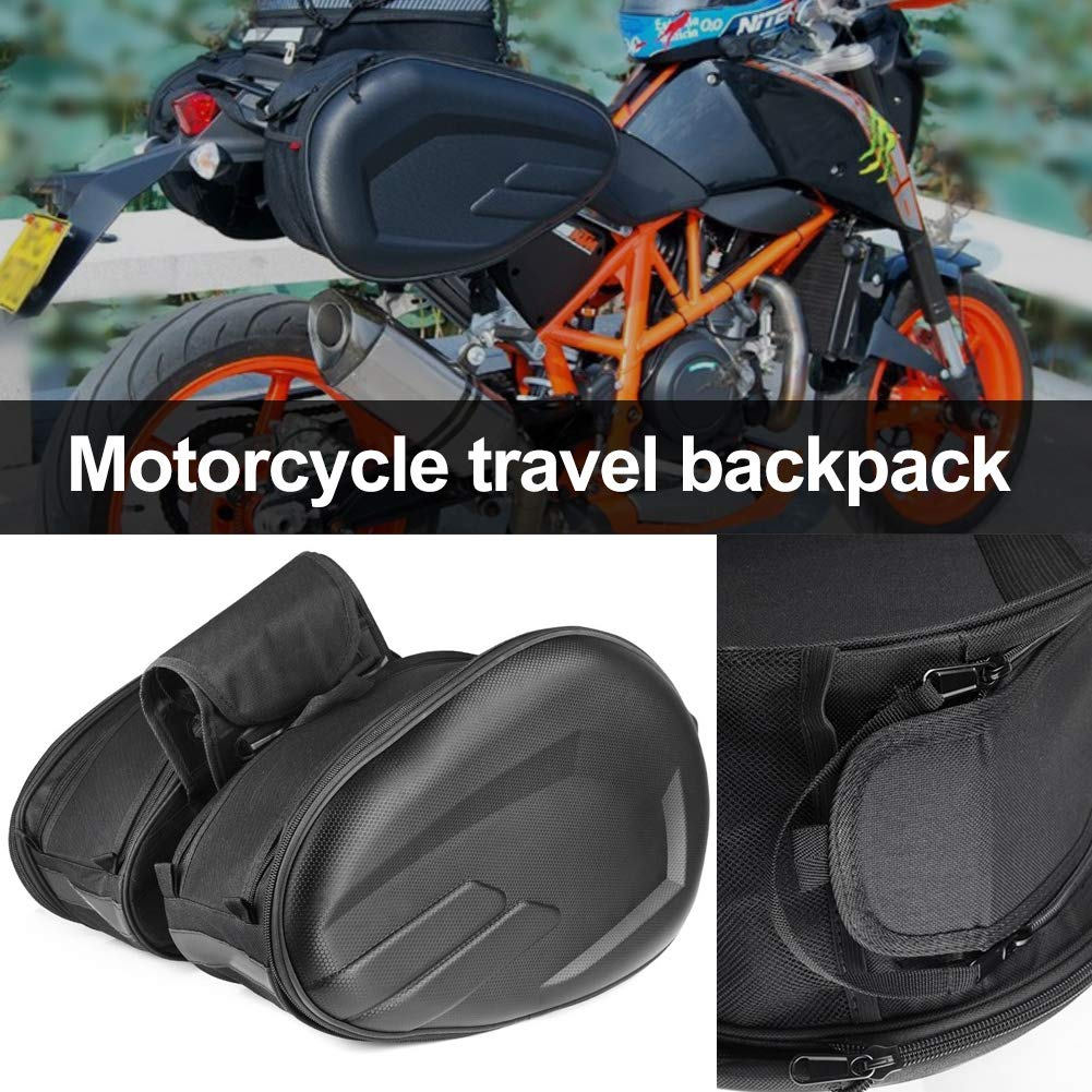 Waterproof Motorbike Saddle Bag Panniers Luggage Box Long-distance Motorcycle Travel Large-capacity Luggage Tail Package Tool Bag