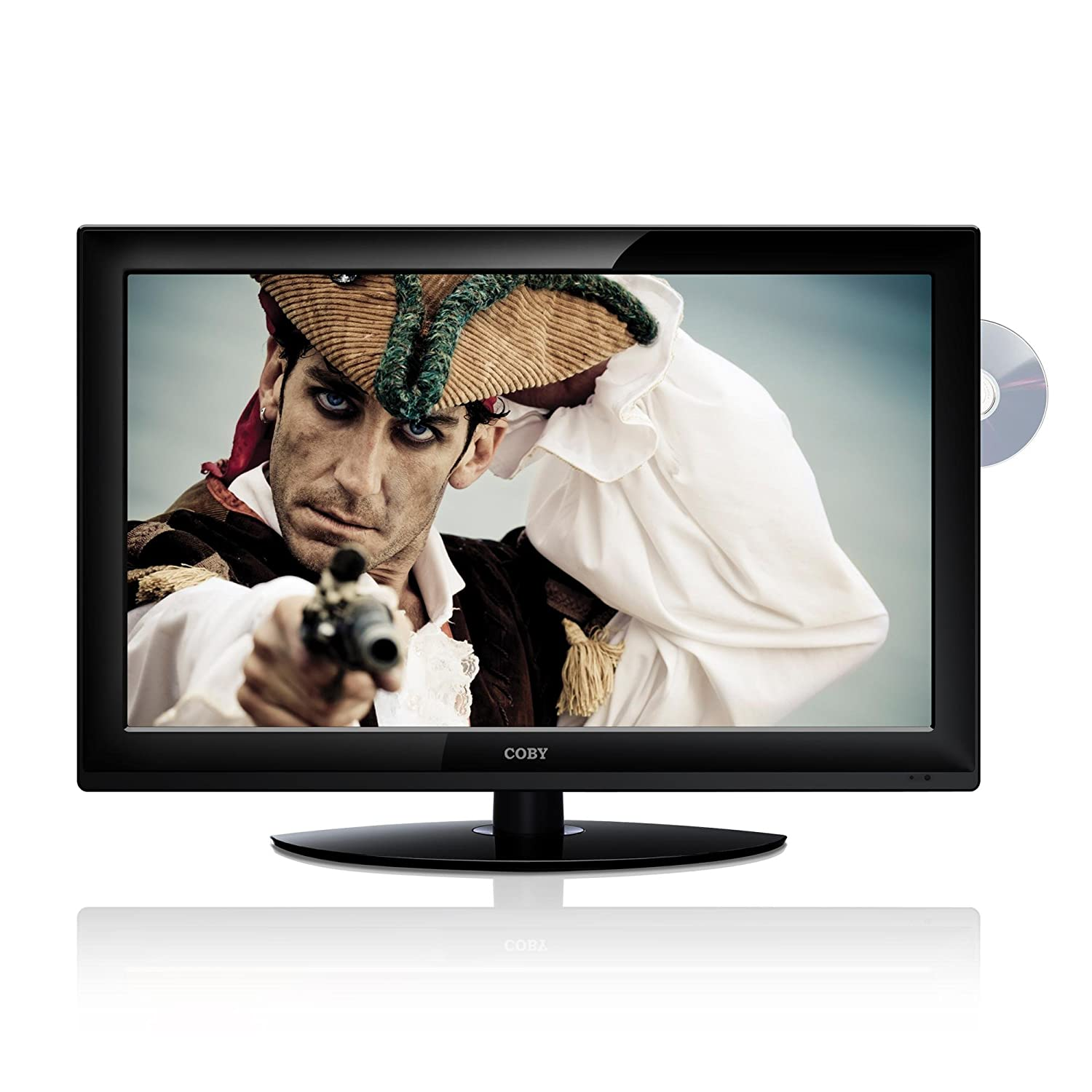 Amazon.com: Coby TFDVD3299 32-Inch 720p 60Hz Widescreen LCD HDTV/Monitor  with DVD Player (Black): Electronics