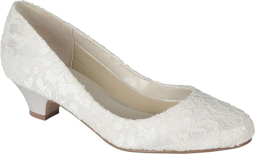 Scarpe Sposa Numero 42.Paradox London Pink Bon Scarpe Da Sposa Donna Avorio Ivory 275