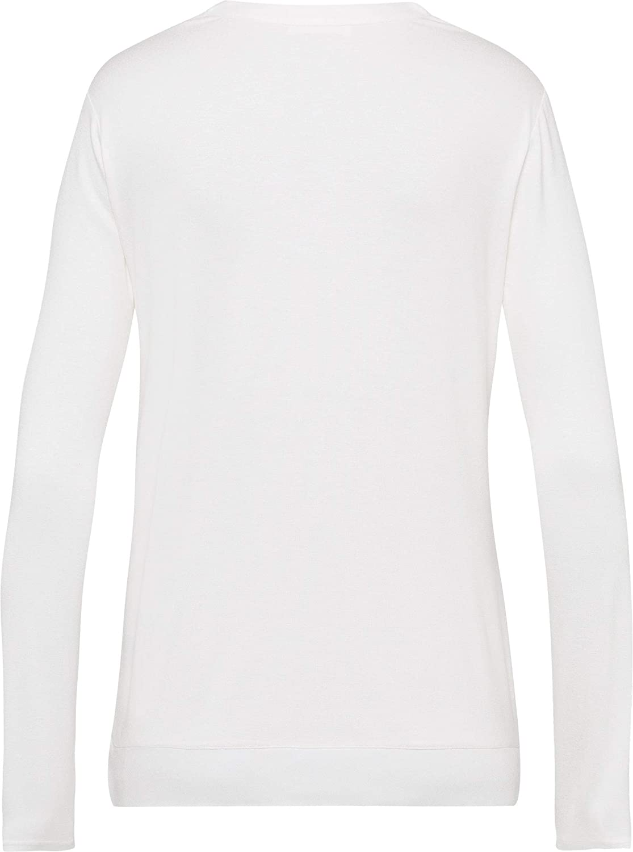 BRAX Style Clarissa T-Shirt Donna Bianco (Offwhite 98)