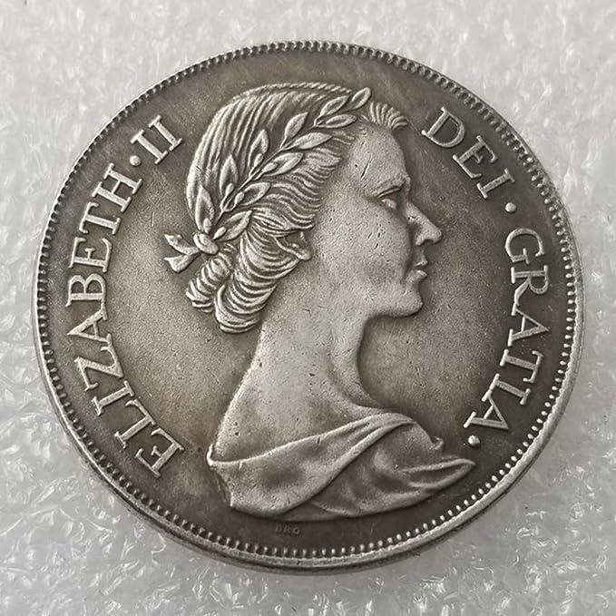 YunBest 1953 Moneda Antigua británica – Moneda no circulada/Coleccionable Conmemorativa Moneda-Gran Herramienta de enseñanza para niños – Es artesanía Hecha a Mano BestShop: Amazon.es: Hogar