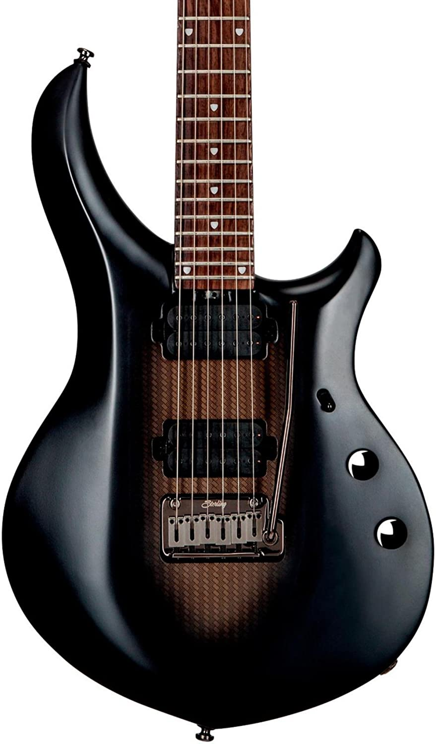 最安値で  Sterling by MUSICMAN Sterling by MAJ100 MUSICMAN Stealth Black B06XG45PHF, 知立市:2b0ea0e7 --- goumitra.com