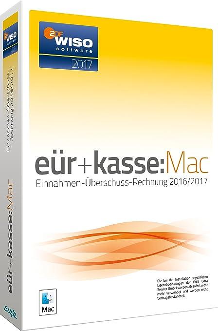 Wiso Eürkassemac 2017 Die Einnahmen überschuss Rechnung 20162017