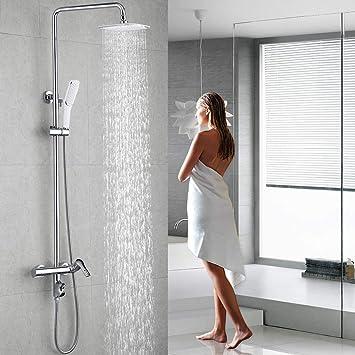 Homelody 3 Funciones Columna de ducha Altura Ajustable sistema de ...