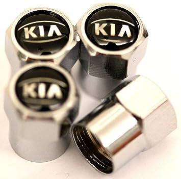 Tapacubos para válvula de neumático de coche, color negro para todo el Kia: Amazon.es: Deportes y aire libre