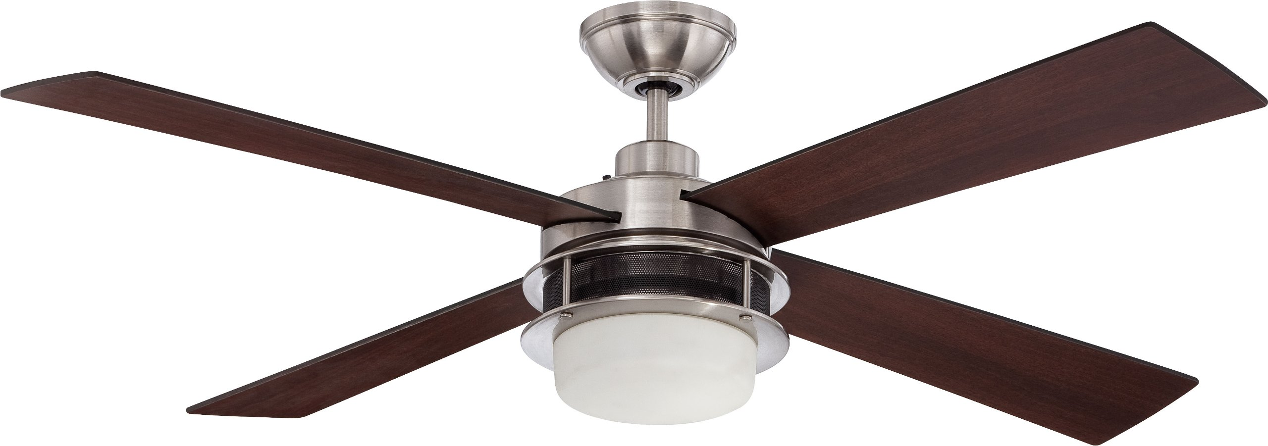 Craftmade UBR52BNK4 Ceiling Fan with Blades Included, 52''
