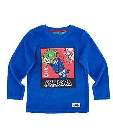 045f73e87b1e1 Pyjamasques Garçon Pyjama (Velours) - Bleu: Amazon.fr: Vêtements et  accessoires