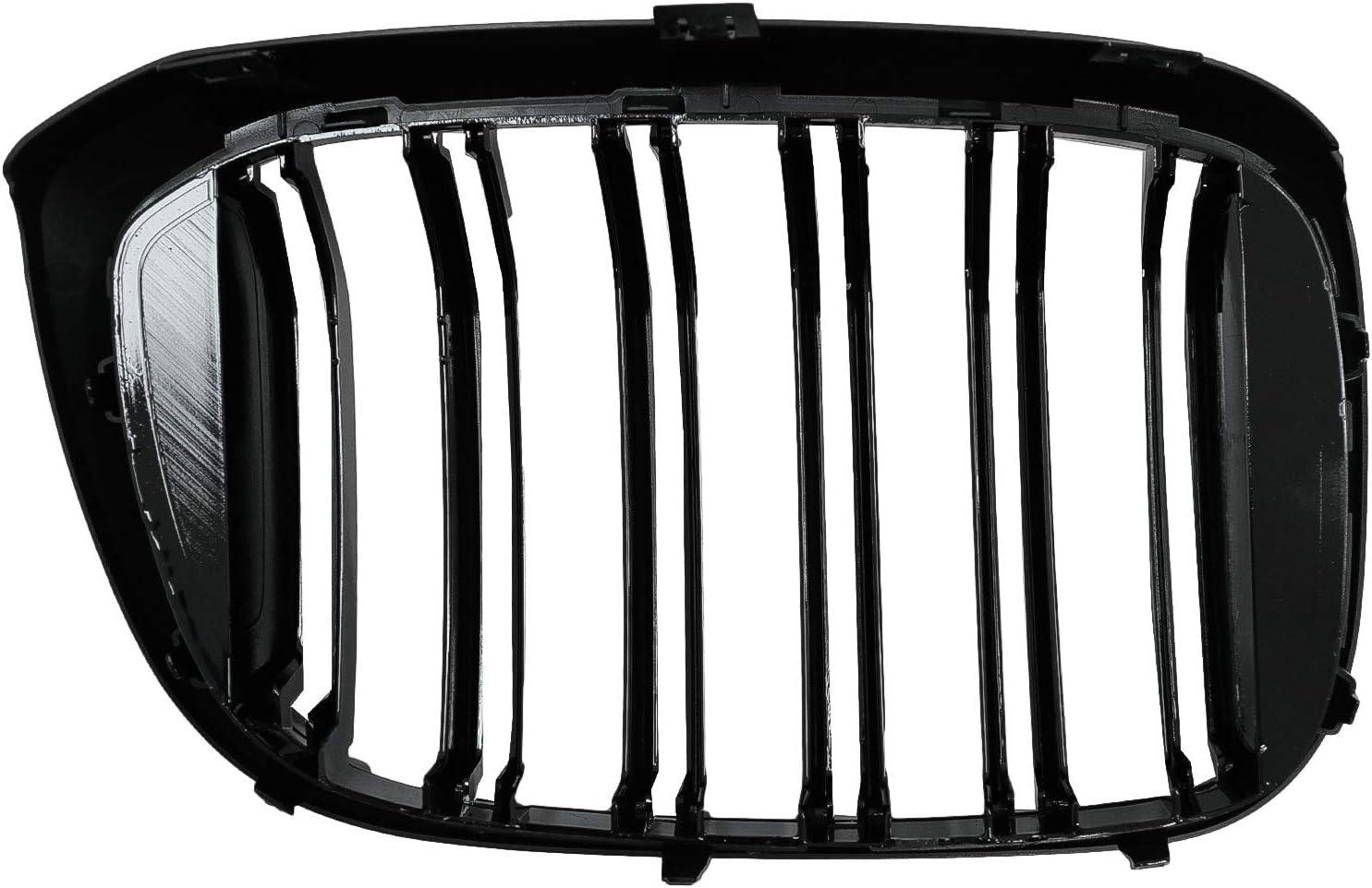 Kitt FGBMG01DPB Grilles centrales pour les reins Noir brillant