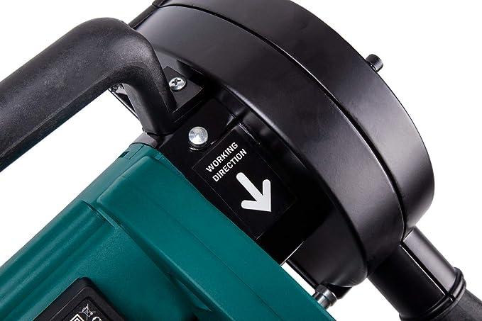Rozadora de pared VONROC | Fresadora de 1700W - 150mm con 6 discos ...
