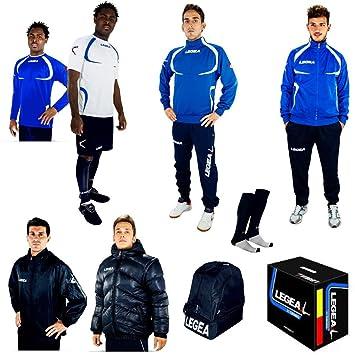 Legea Tornado - Conjunto de ropa deportiva, Mujer Unisex Chicas Niño Hombre, Azul claro