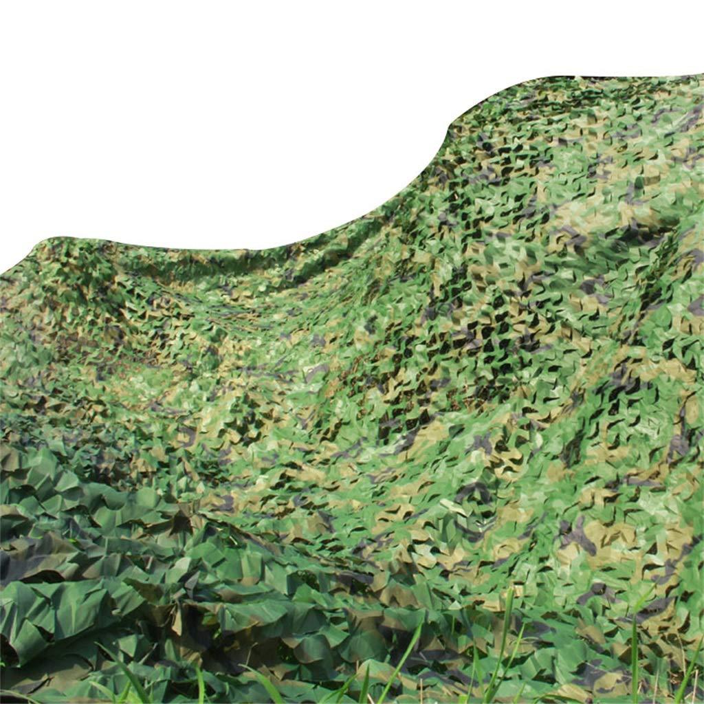 シェーディングネットシェード布サンネットメッシュシェード日焼け止めウッドランド迷彩ネット用紫外線抵抗ネット用ガーデンフラワー植物温室 B07RPKN1L5  10mx10m