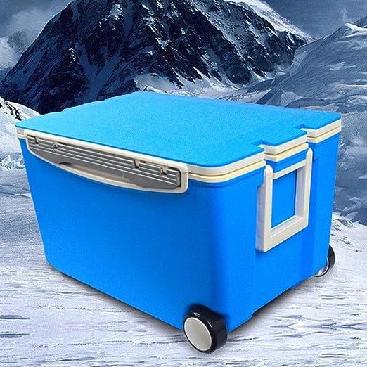 kaluo 40L hielo enfriador de pecho, multiusos, 2 ruedas para ...