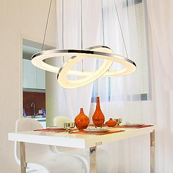 kjlars lámpara colgante LED de acrílico colgante Acero ...
