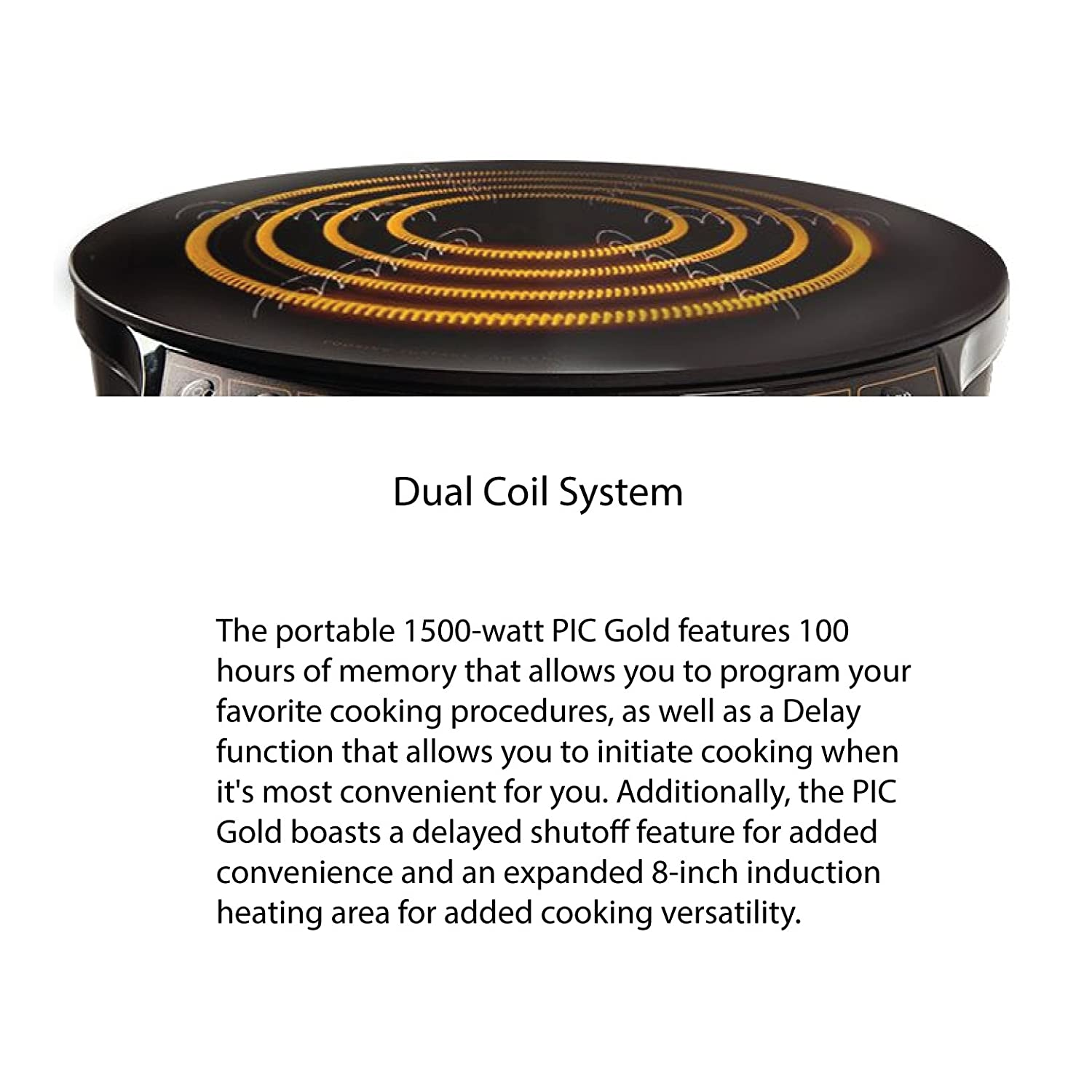 Nuwave Pic Gold 1500w Portable Induction Cooktop Low Price Cookerb3 View Circuit Board Cooker Countertop Burner Kitchen Dining