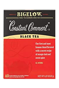 Bigelow Constant Comment Black Tea, 40 Count Box (2.37OZ)
