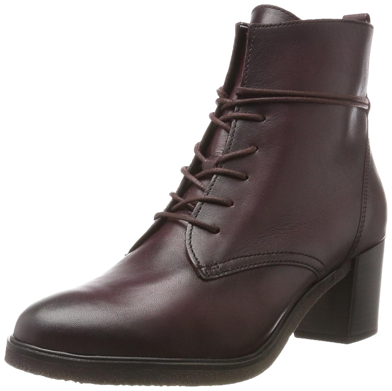 Gabor Shoes Gabor Fashion, Botas para Mujer40 EU|Rojo (25 Wine Effekt)