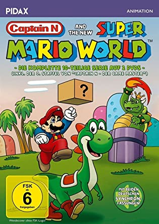 Captain N and the new Super Mario World / Die komplette 10 ...