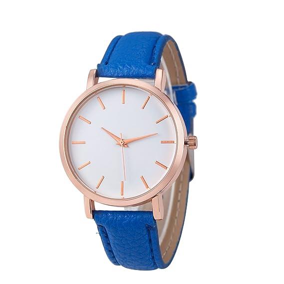 Yusealia Relojes Pulsera Mujer Despeje, Casual Reloj Analógico de Cuarzo de Acero Inoxidable Dama Relojes