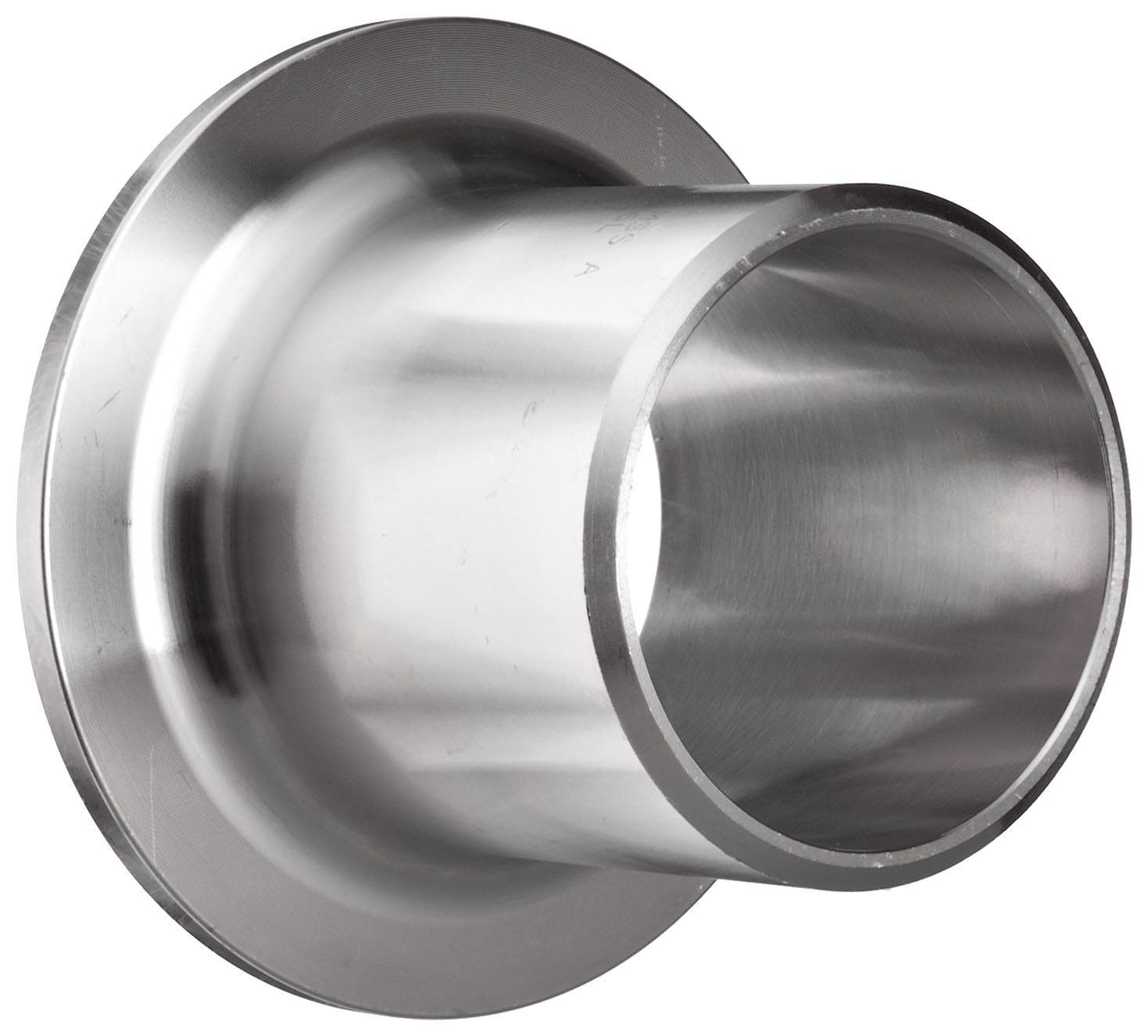Stainless Steel 304/304L Butt-Weld Pipe Fitting, Type A MSS Stub End, Schedule 40, 8'' Pipe Size