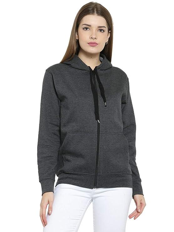 Scott International Women\'s Cotton Hooded Hoodie Sweatshirts