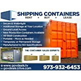 40ft NEW One Trip General Purpose High Cube Steel Shipping Container / Secure, Outdoor, Portable Storage Shed / 40' Cargo Container / Container Home / Emergency Shelter / Vacation Home