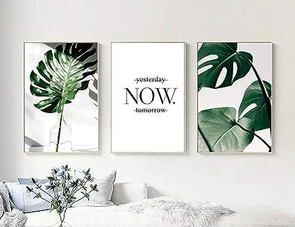 Nordic Ideas Set De 3 Tableau Moderne Chambre Decoration
