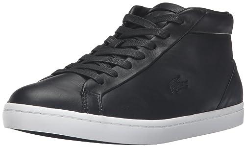 Lacoste Women's Straightset Chukka 316 1 Caw Blk Fashion Sneaker